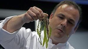 El chef que convierte las algas y el placton en alta cocina