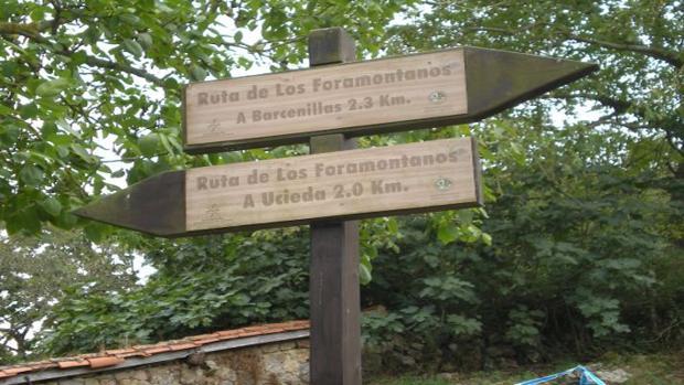 Barcenillas y Ucieda son localidades del valle de Cabuérniga por donde pasa la ruta