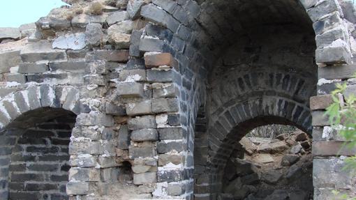 Parte de la Muralla caída
