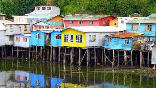 Isla de Castro, capital de la provincia de Chiloe