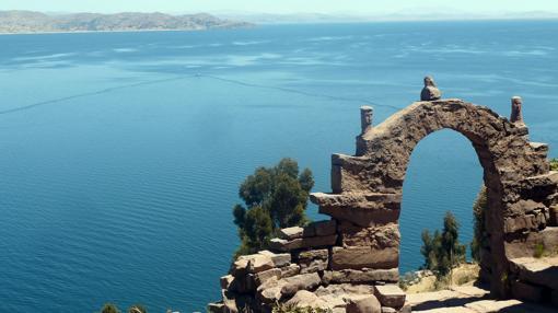 Lago Titicaca desde la isla de Taquile