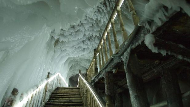 La cueva de hielo que nunca se derrite
