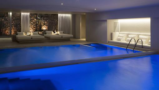 Instalaciones del spa del hotel Aguas de Ibiza
