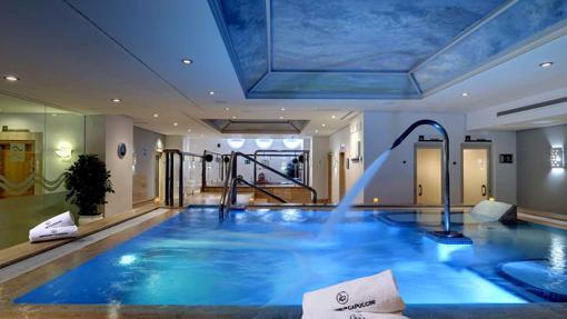 Instalaciones del spa del hotel Amàre