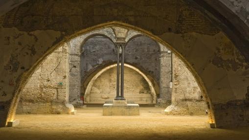 Interior de las Reales Atarazanas de Sevilla. Fuente: iaph.es