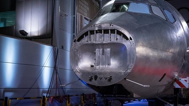 Morro del DC-9 en los estudios de El Hormiguero