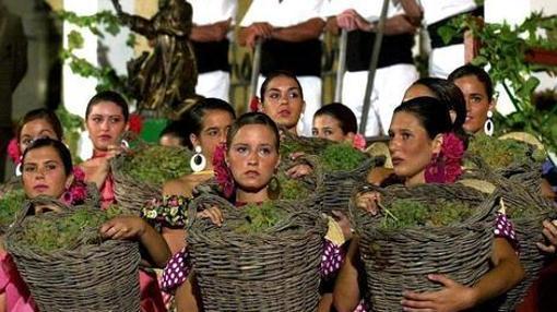 Imagen de archivo de las Fiestas de la Vendimia en Jerez
