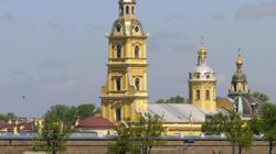 Vista de la Fortaleza y de la iglesia de San Pedro y San Pablo
