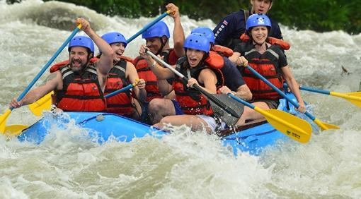 Día de rafting junto al Aernal