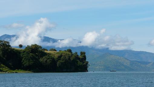 Diez maravillosas islas en mitad de un lago