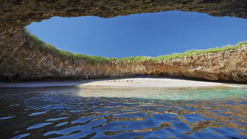 Playa Escondida, en México