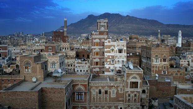 La ciudad vieja de Saná mantiene intacto un estilo arquitéctonico milenario