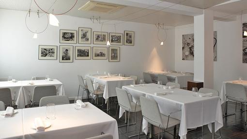 Sala del restaurante Askua