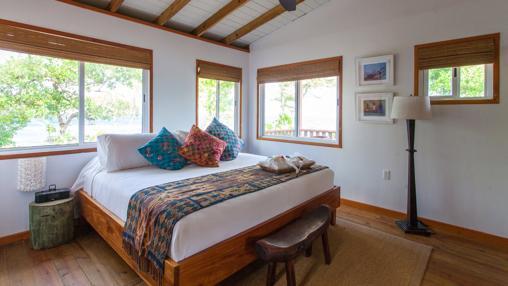 Una habitación en Coral Caye