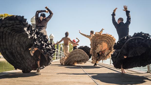 El flamenco sale a la calle durante la Bienal. Fuente: labienal.comn