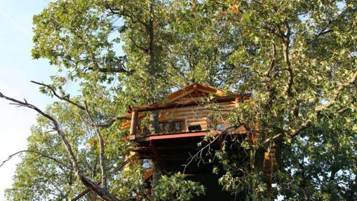 Exterior de la cabaña Brisa