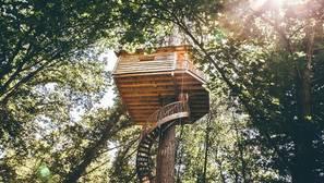 Las diez mejores cabañas en árboles de España