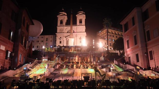 Renace la Piazza di Spagna