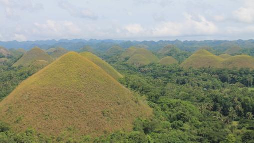 Las colinas de chocolate, uno de los principales atractivos de Bohol