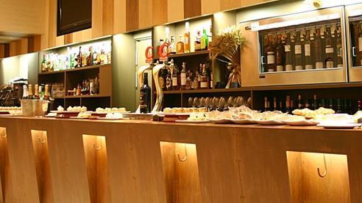 Barra del bar La Espiga