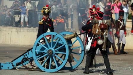 Recreación de la Batalla de Bailén