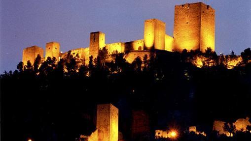 Anochecer en el castillo de Santa Catalina