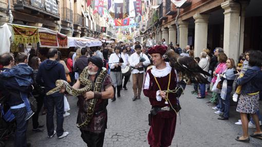 Mercado medieval, en Alcalá de Henares