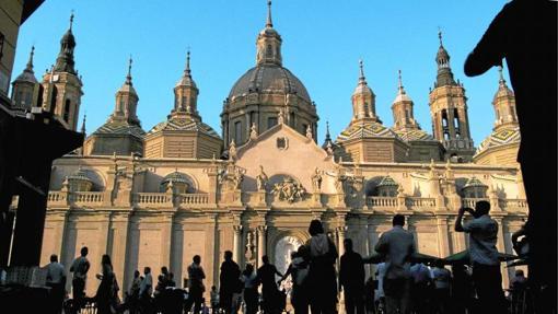 Basílica del Pilar, en Zaragoza