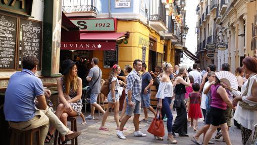 Calle de El Tubo, en Zaragoza