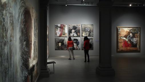 Interior del museo Goya, en Zaragoza