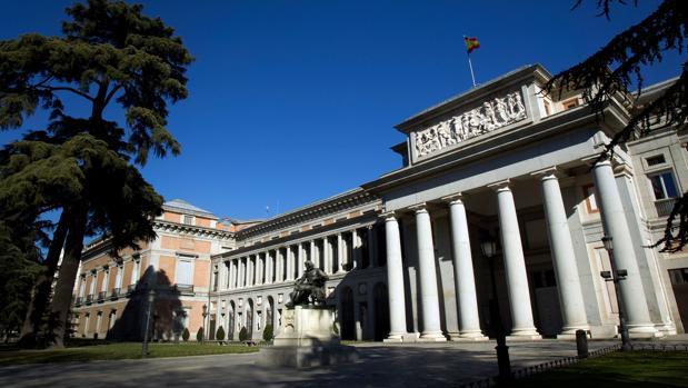 Fachada Vélazquez del Museo del Prado, Madrid