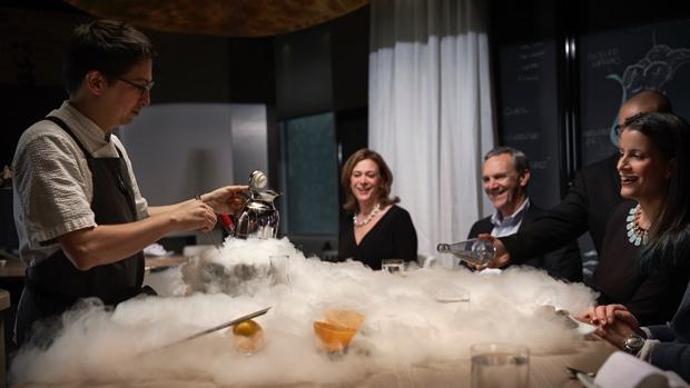 Una experiencia gastronómica de muchos quilates, en el Minibar by José Andrés