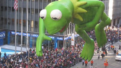 Desfile organizado por la cadena de tiendas Macy's