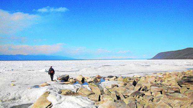 El Baikal permanece helado gran parte del año