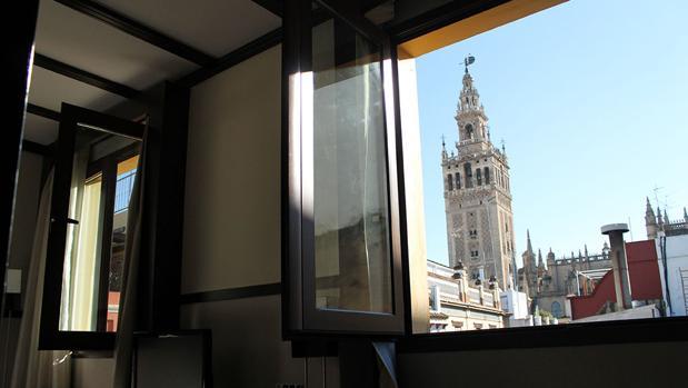 Vistas de una de las habitaciones del Hotel Alminar. Fuente: hotelalminar.com