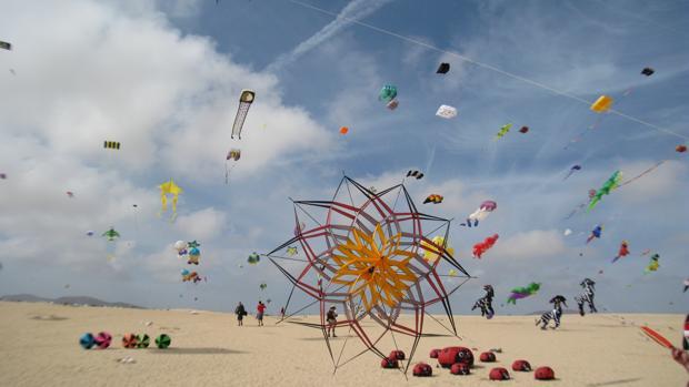 Festival Internacional de las Cometas, en Fuerteventura