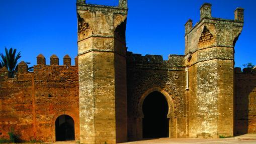 La necrópolis de Chellah, en Rabat