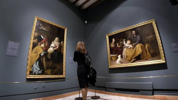 Exposición Velázquez. Murillo. Sevilla, en el Hospital de los Venerables