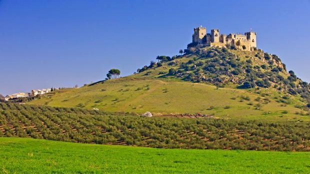 Vista del castillo de Almodóvar del Río