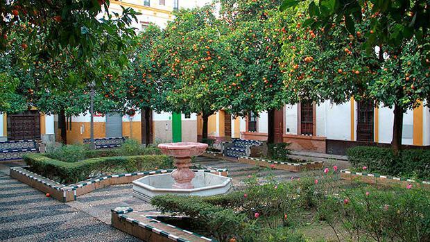 Plaza de Doña Elvira, una d elas joyas del Barrio de Santa Cruz