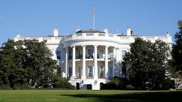 La Casa Blanca, en una foto tomada el 8 de noviembre
