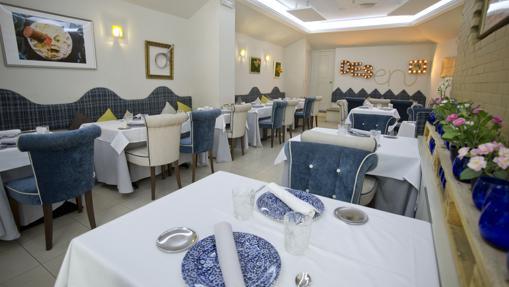 Sala del restaurante Desencaja
