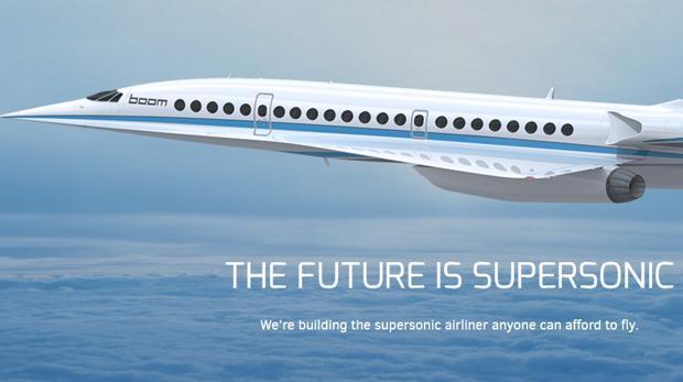 Así es el avión supersónico del futuro