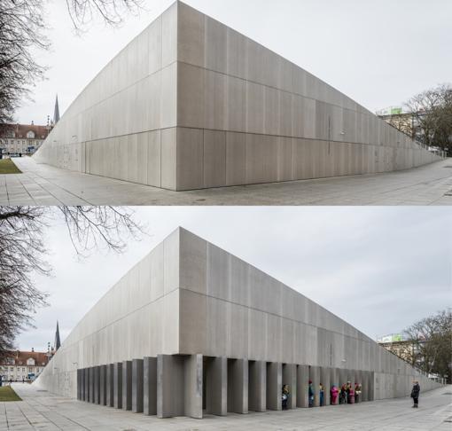 Exterior del Museo Nacional, en Szczecin (Polonia).