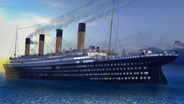 China botará en un embalse un nuevo Titanic