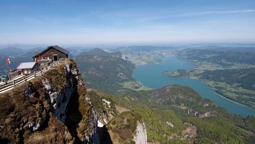 Panorama desde el Monte Schafberg