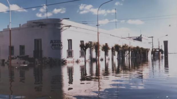 Epecuén, la ciudad que resurge del agua