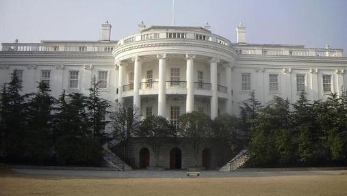 Réplica de la Casa Blanca de Hangzhou, en China