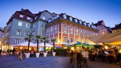 Mehlplatz, en el centro de Graz