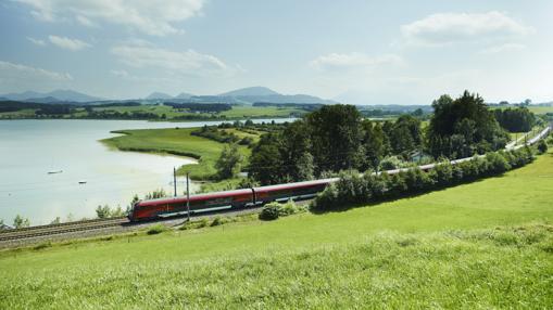 La red de trenes de Austria descubre paisajes espectaculares